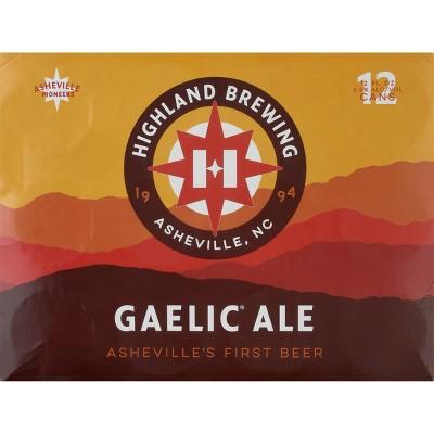 Highland Mist Gaelic Ale Beer - 12pk/12 fl oz Bottles