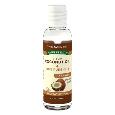 Nature's Truth Coconut Base Oil Aromatherapy Essential Oil - 4 fl oz