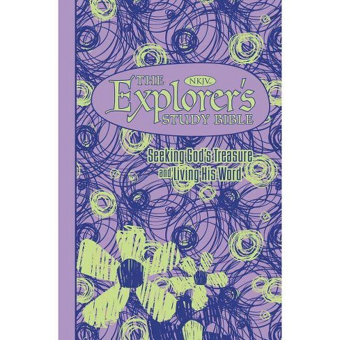 Explorer's Study Bible-NKJV - by  Thomas Nelson (Leather_bound) - image 1 of 1