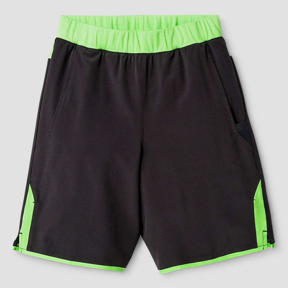 Boys' Tennis Shorts - C9 Champion Railroad Gray XS