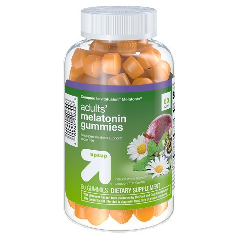 Melatonin Dietary Supplement Gummies - Fruit - 60ct - Up&Up™ - image 1 of 4