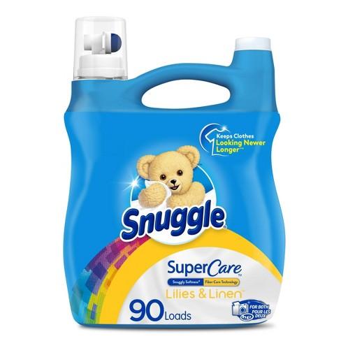 Snuggle Supercare Lilies & Linen Liquid Fabric Softener - 95 fl oz - image 1 of 3