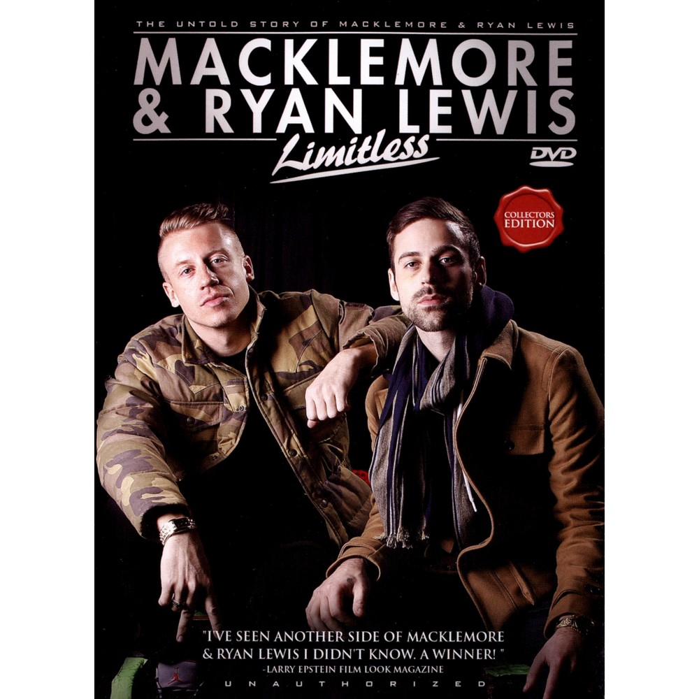 Macklemore & Ryan Lewis:Limitless (Dvd)