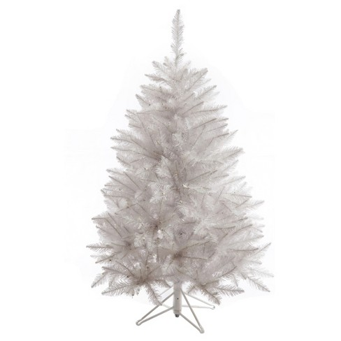 4.5ft Unlit Slim Sparkle White Spruce Artificial Christmas Tree - Vickerman - image 1 of 1