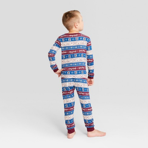 1de048e7ecaa Kids  Holiday Harry Potter Pajama Set - Ivory 4