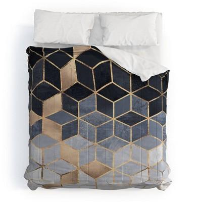 Elisabeth Fredriksson Soft Gradient Cubes II 100% Cotton Comforter Set - Deny Designs