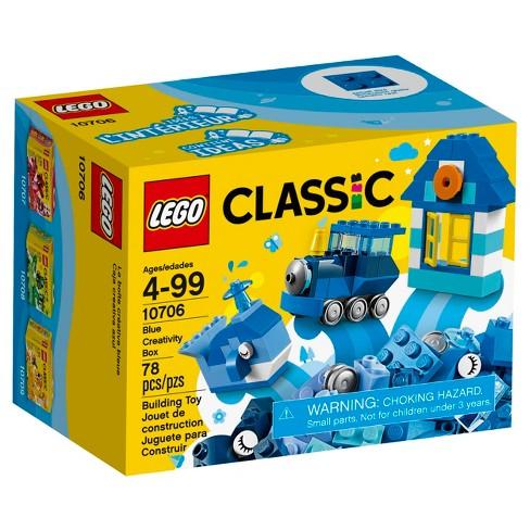 Lego Classic Blue Creativity Box 10706 Target