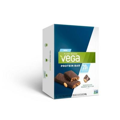 Vega 20g Protein Bars - Chocolate Peanut Butter - 12pk