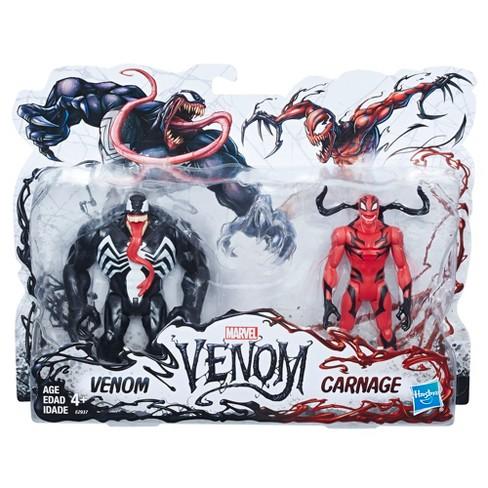 marvel venom venom carnage figure 2pk target