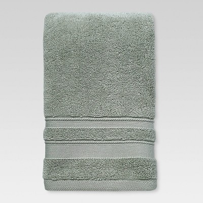 Performance Solid Texture Hand Towel Light Sage Green - Threshold™