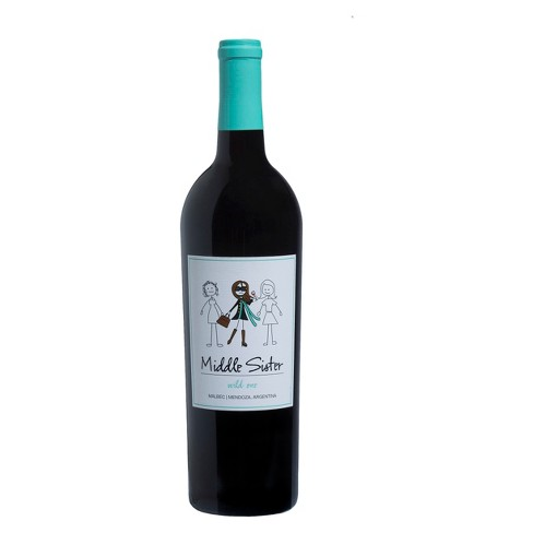 Middle Sister® Malbec - 750mL Bottle - image 1 of 1