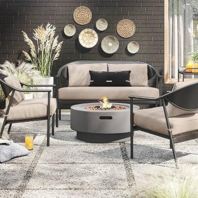 Dekker Deep Seating Patio Fire Set - Project 62™