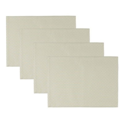 """4pk 13""""X19"""" Mckenna Placemats Mint - Town & Country Living"""