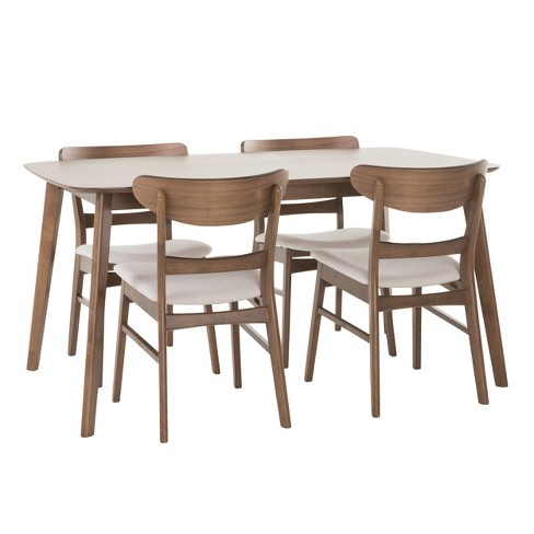 Idalia Rectangular 5pc Dining Set - Christopher Knight Home - image 1 of 4