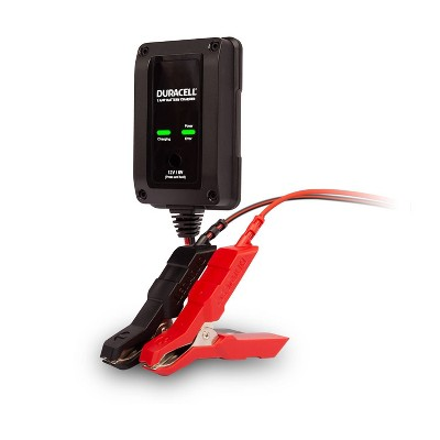 Duracell 1 Amp Battery Charger Maintainer and Gel Batteries