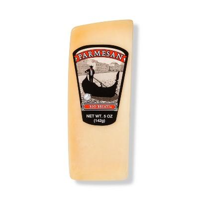Rio Braiti Parmesan Cheese Wedge - 5oz