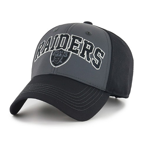 bb96e05135f NFL Men s Oakland Raiders Blackball Script Hat   Target