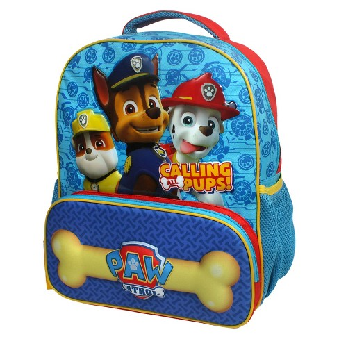 "Nickelodeon 14"" Paw Patrol Kids' Backpack - Blue/Red/Yellow - image 1 of 3"