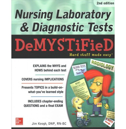 Nursing Laboratory and Diagnostic Tests Demystified (Paperback) (Jim Keogh) - image 1 of 1