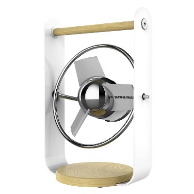 Sharper Image SBV1 Personal USB Fan with Soft Blades White