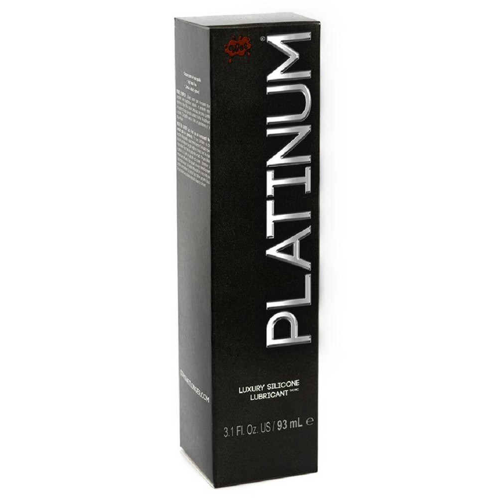 Wet Platinum Premium Latex Free Lube Serum 3 1oz