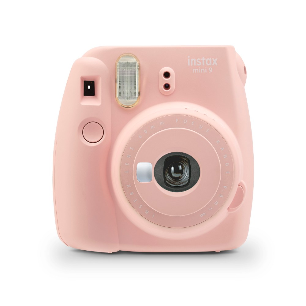 Fujifilm Instax Mini 9 Camera - Rose Quartz, Pink Quartz