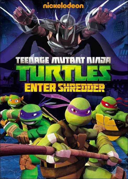 Teenage Mutant Ninja Turtles: Enter Shredder (dvd_video) - image 1 of 1