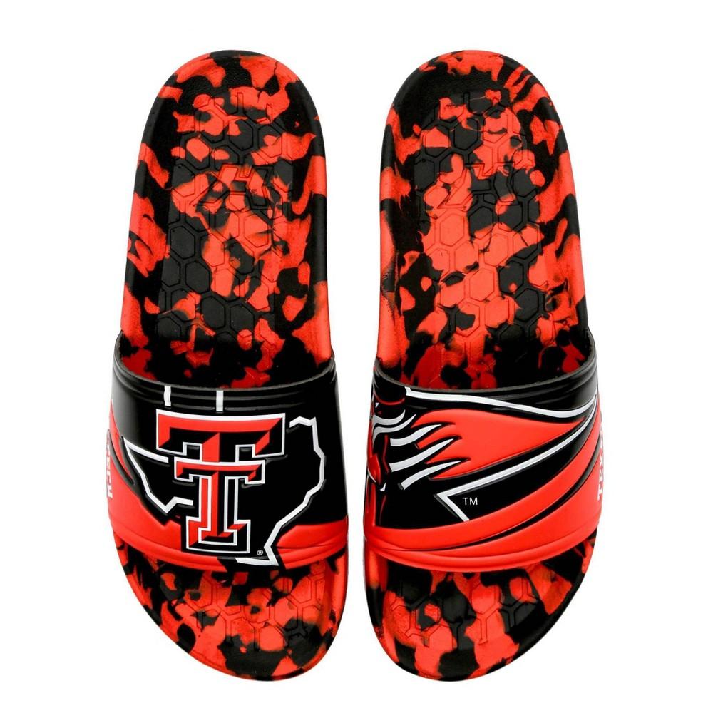 Ncaa Texas Tech University Slide Sandals W10 M8