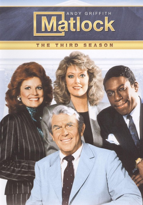 Matlock:Third season (DVD) - image 1 of 1