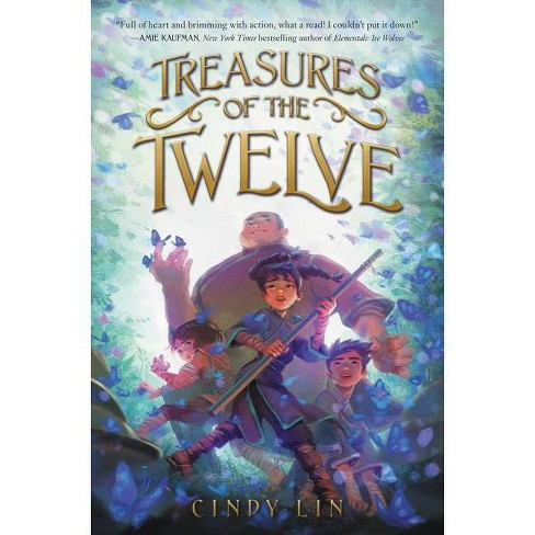 Treasures of the Twelve - by  Cindy Lin (Hardcover) - image 1 of 1