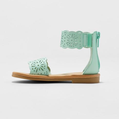 d3dec0afa00 Toddler Girls  Dara Two Piece Gladiator Sandals - Cat   Jack™ Mint 5    Target