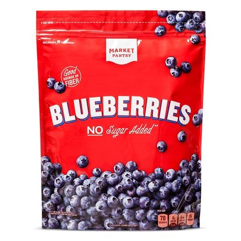 Whole Frozen Blueberries - 48oz - Market Pantry™ - image 1 of 1