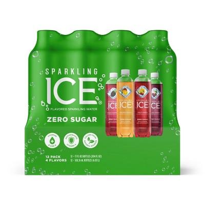 Sparkling Ice Green Variety Pack - 12pk/17 fl oz Bottles