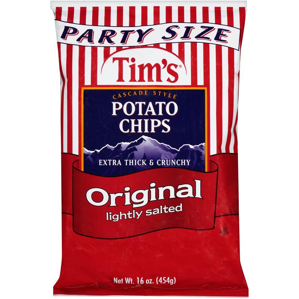 Tim's Original Lightly Salted Potato Chips - 16oz