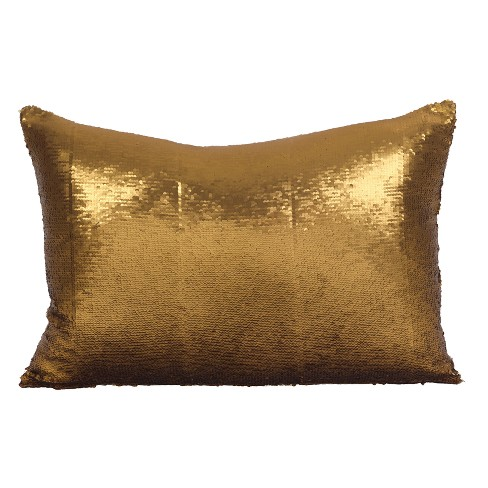 Reversible Sequin Mermaid Throw Pillow - image 1 of 3