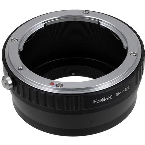 Fotodiox Lens Mount Adapter for Nikon Nikkor F Mount D/SLR Lens to Micro Four Thirds (MFT, M4/3) Mount Mirrorless Camera Body - image 1 of 3