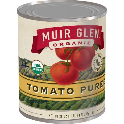 Muir Glen Organic Gluten Free Tomato Puree - 28oz