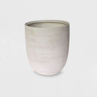 14  Textured Ceramic Planter White - Project 62™