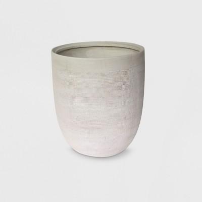 14  Textured Ceramic Planter White - Project 62™