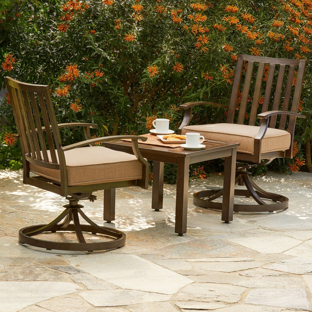 3pc Bridgeport Bistro Tan - Royal Garden