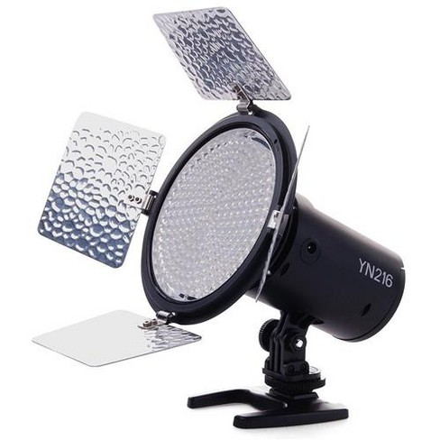 Yongnuo YN-216 3200-5500K Dimmable LED Video Light for Camera or Camcorder, 2000 Lumens - image 1 of 2