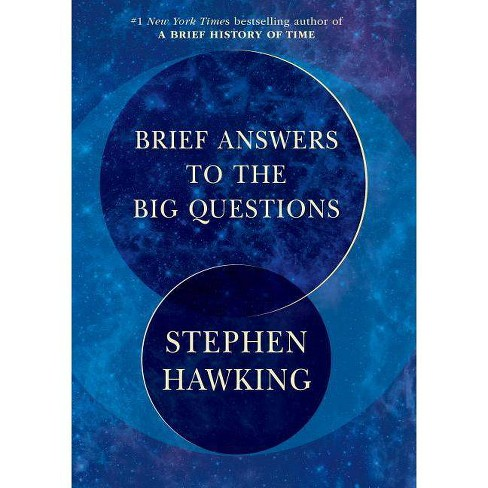 Brief Answers to the Big Questions -  by Stephen W. Hawking (Hardcover) - image 1 of 1