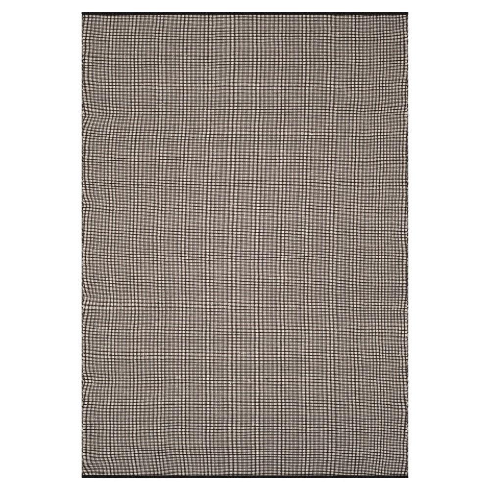 Ivory/Black Stripe Flatweave Woven Area Rug - (5'X8') - Safavieh