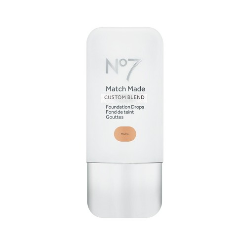No7 Match Made Foundation Drops Deep Tan Shades - 0.5oz - image 1 of 3