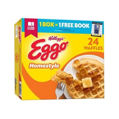 Kellogg's Eggo Frozen Homestyle Waffles - 29.6oz/24ct