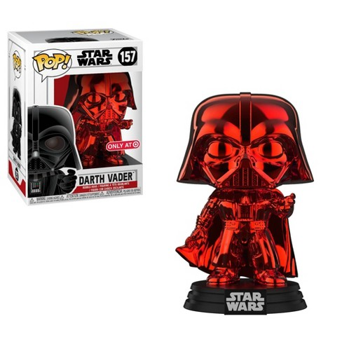 Funko POP! Star Wars: Red Chrome Darth Vader (REDcard Exclusive) - image 1 of 3