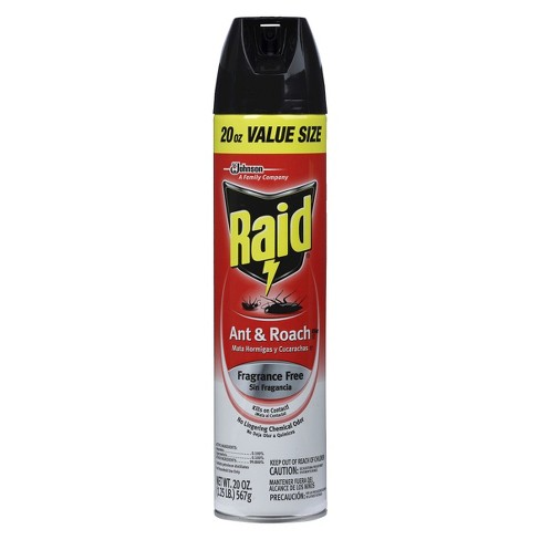 Raid Ant & Roach Killer 26, Fragrance Free, 20oz<br>Select Channel - image 1 of 3