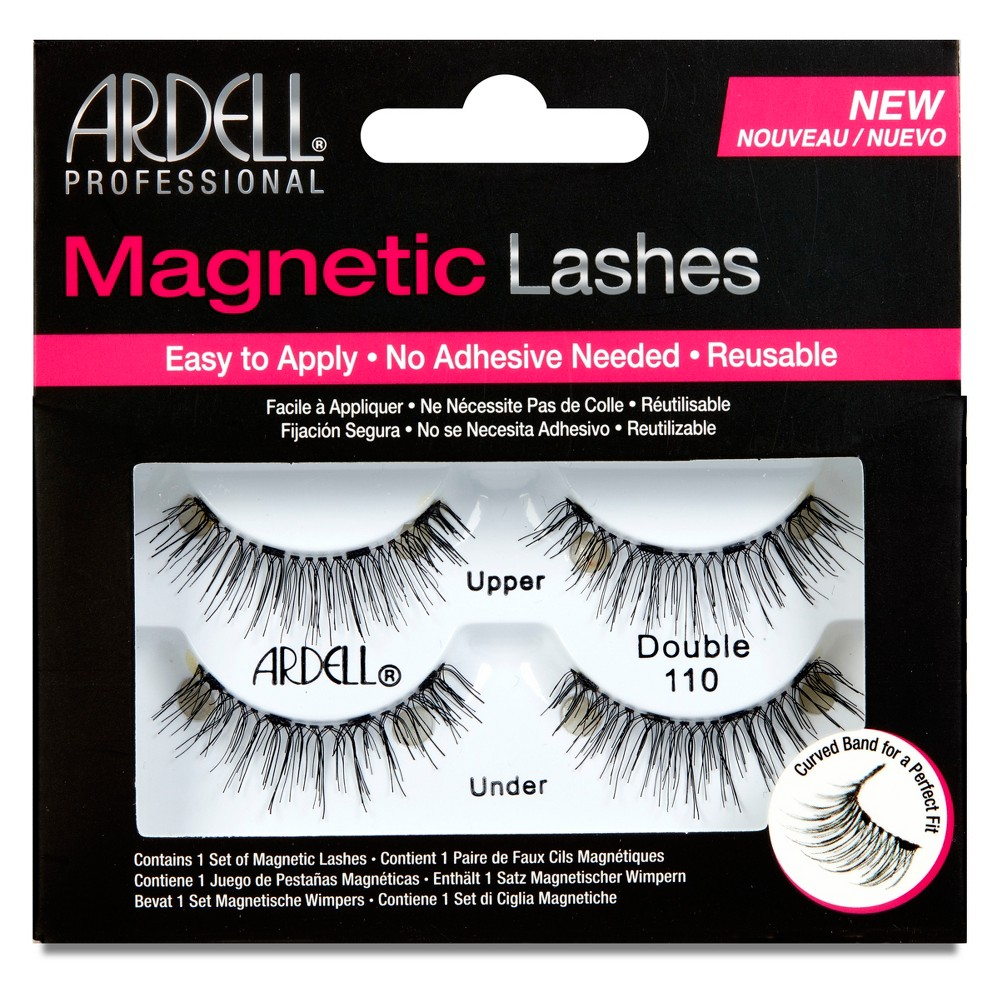 Image of Ardell Double 110 Magnetic Eyelashes Black - 1pr
