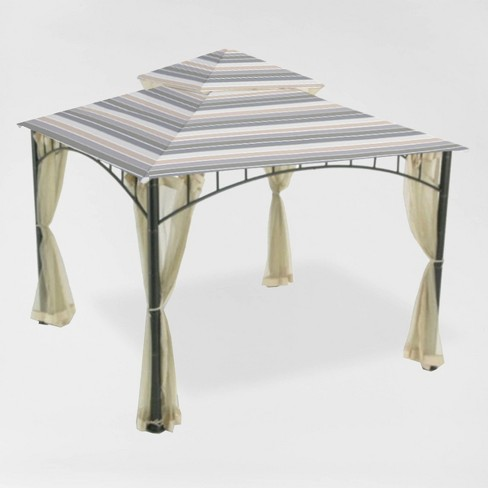 Madaga Replacement Canopy Stripe Stone - Garden Winds - image 1 of 3