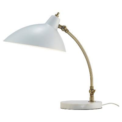 """15"""" x 18"""" Peggy Desk Lamp White - Adesso"""